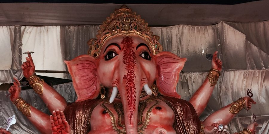 35-feet Idol of Lord Ganesha is the Center of Attraction in Bhubaneswar
