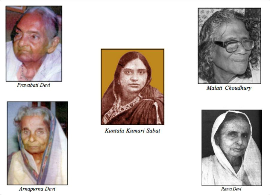 role of women in freedom movement