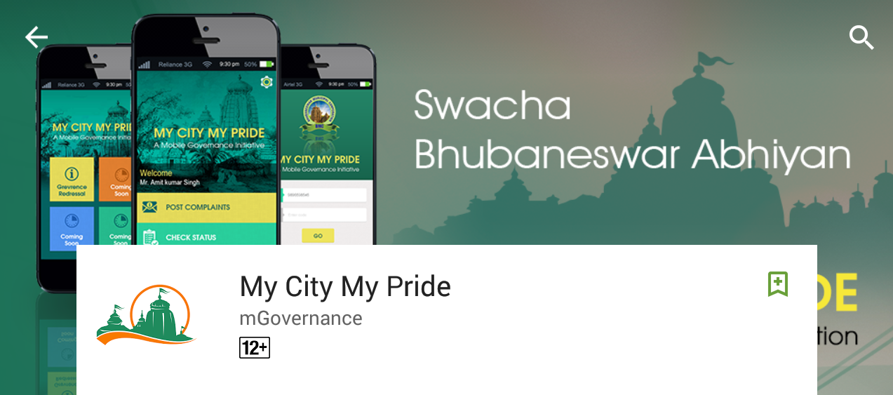 Around 70% of smartphone users uninstalled My City My Pride app