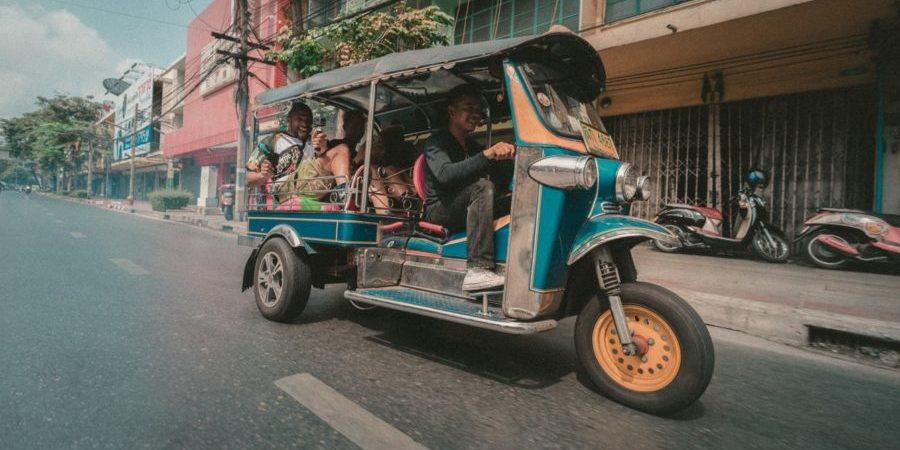 Tuktuk Ride in Bangkok City